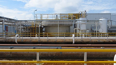 Wastewater treatment system installed in Thailand plant
