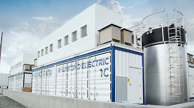 2 MW/8 MWh redox flow battery system
