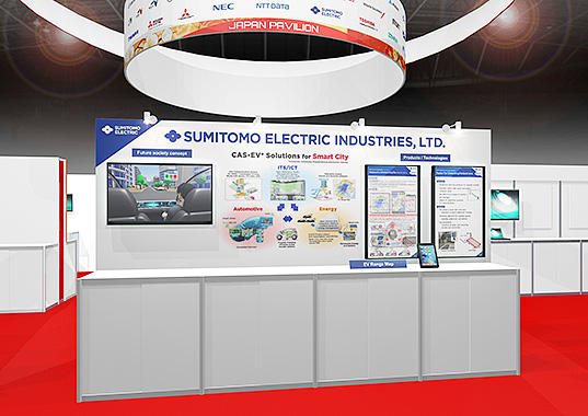 Sumitomo Electric Exhibits at ITS World Congress 2017