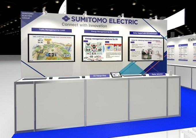 Sumitomo Electric Exhibits at ITS World Congress 2018