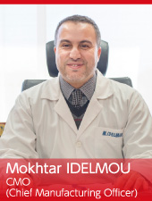 Mokhtar IDELMOU CMO (Chief Manufacturing Officer)