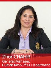 Zhor CHAHIR General Manager, Human Resources Department
