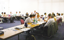 Training Seminar in an Overseas Affiliate (Germany)
