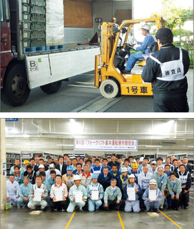 Activities for the Improvement of Logistics Quality