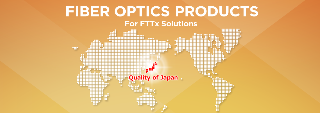 fiber optics products for fttx solutions sumitomo electric