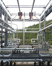 Wastewater treatment system installed in the Kisa Plant